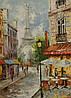 Картина Эйфелева башня на натуральном дереве Артприз 40х70см (КДПЖ1/5070/20)