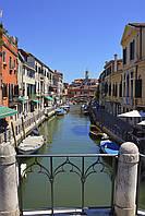 Картина Венеция история на натуральном дереве Артприз 40х30 (КДВ12/3040/43), фото 1