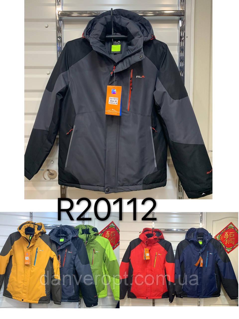 Куртка мужская стильная зимняя RLA размер 48-56 купить оптом со склада 7км Одесса