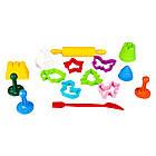 Набор для лепки Микс аксессуаров 15 шт. Genio Kids LEP01, фото 2