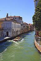 Картина Каналы Венеции на натуральном дереве Артприз 30х60см (КДВ14/3060/45), фото 1