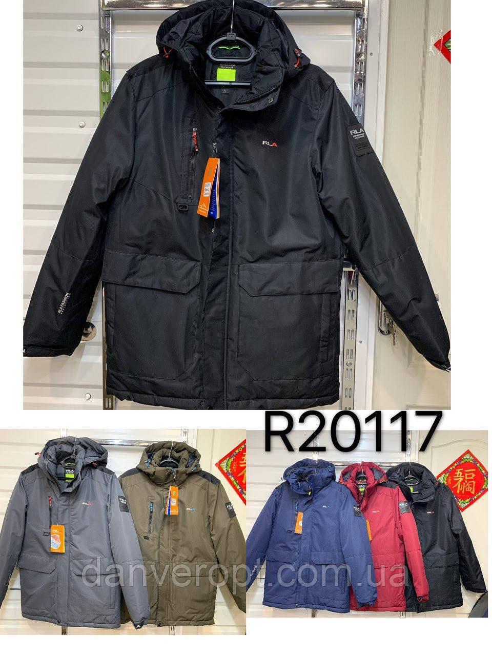 Куртка мужская стильная зимняя RLA размер 56-64 батал купить оптом со склада 7км Одесса