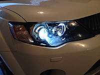 НАШИ РАБОТЫ: Установка линз в Mitsubishi Outlander XL