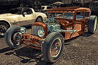 Картина Ретро авто на натуральном холсте Артприз 30х50см (АР3050/11), фото 1