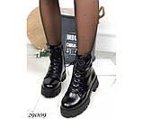 Ботинки зимние на тракторной подошве, фото 3