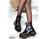 Ботинки зимние на тракторной подошве, фото 5