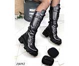 Ботинки демисезонные, на тракторной подошве, фото 2