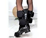 Ботинки демисезонные, на тракторной подошве, фото 4