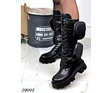 Ботинки демисезонные, на тракторной подошве, фото 6