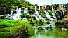 Картина Водопад каскад на натуральном холсте Артприз 30х60см (ПП3060/18)