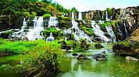 Картина Водопад каскад на натуральном холсте Артприз 30х50см (ПП3050/18), фото 1