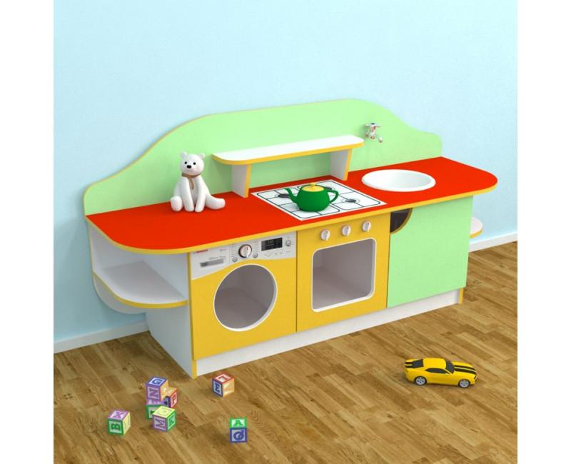 Детская игровая стенка Кухня Золушка. W343