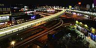 Картина Ночной город в огнях на натуральном холсте Артприз 30х60см (НГ2/3060/26), фото 1
