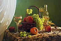 Картина Натюрморт 2 на натуральном холсте Артприз 40х70см (Н2/4070/99), фото 1
