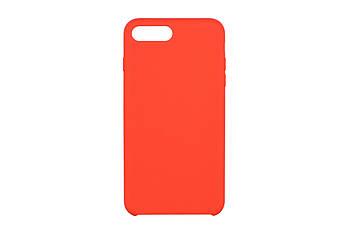 Захисний силіконовий чохол для Apple iPhone 7/8 Plus 2Е Liquid Silicone Червоний (2E-IPH-7/8P-NKSLS-RD)