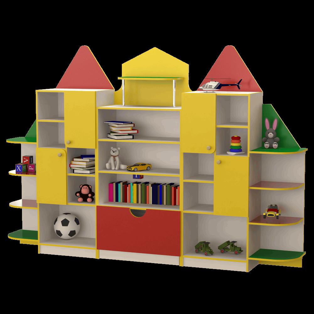 Детская игровая стенка Домик. W404