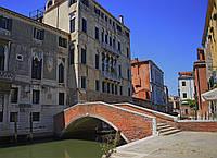 Картина Венеция мост 2 на натуральном дереве Артприз 20х30см (КДВ11/2030/42)