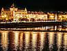 Картина Ночной город 5 на натуральном холсте Артприз 30х40см (НГ5/3040/29)
