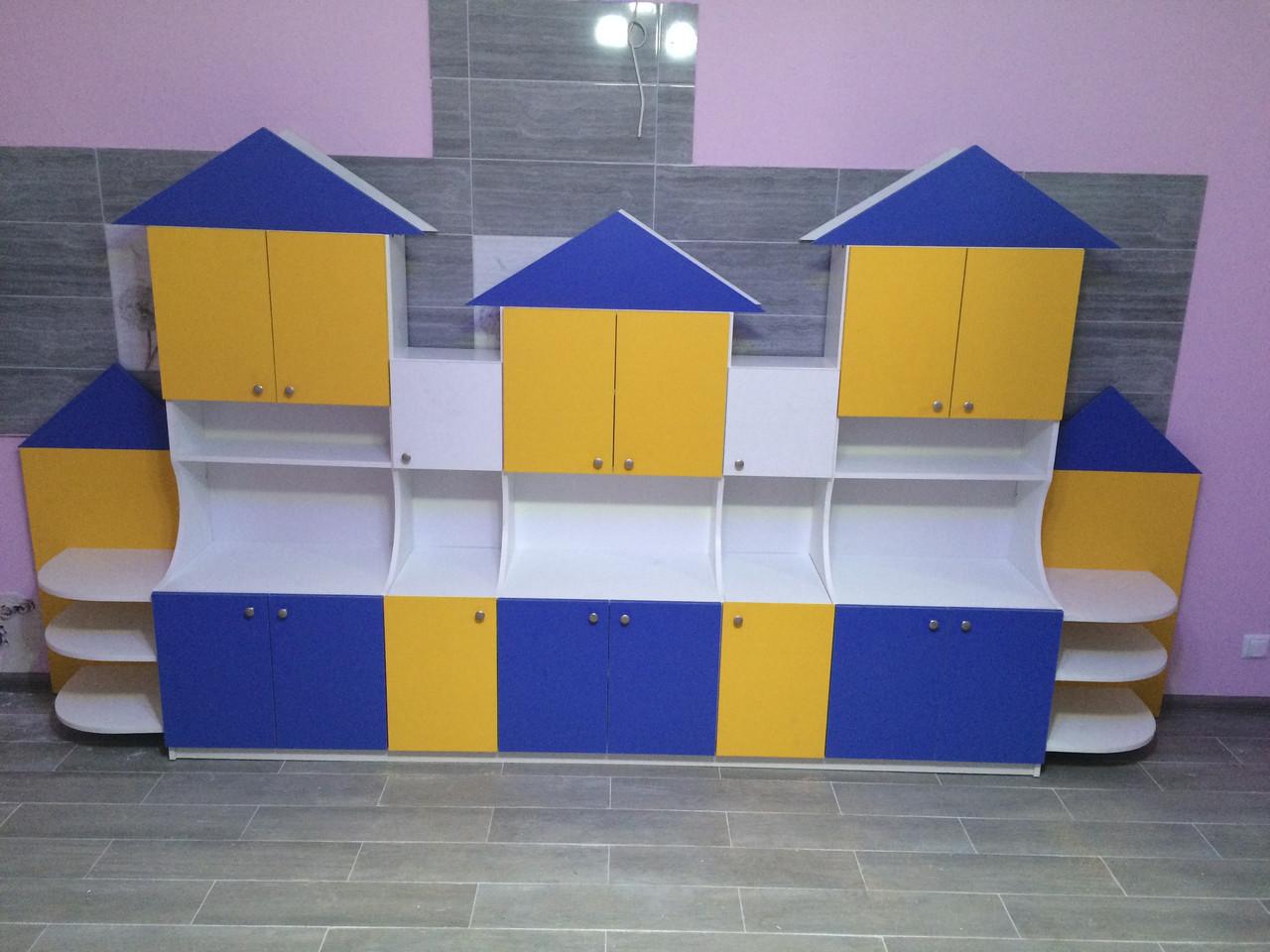 Детская игровая стенка Замок. W406