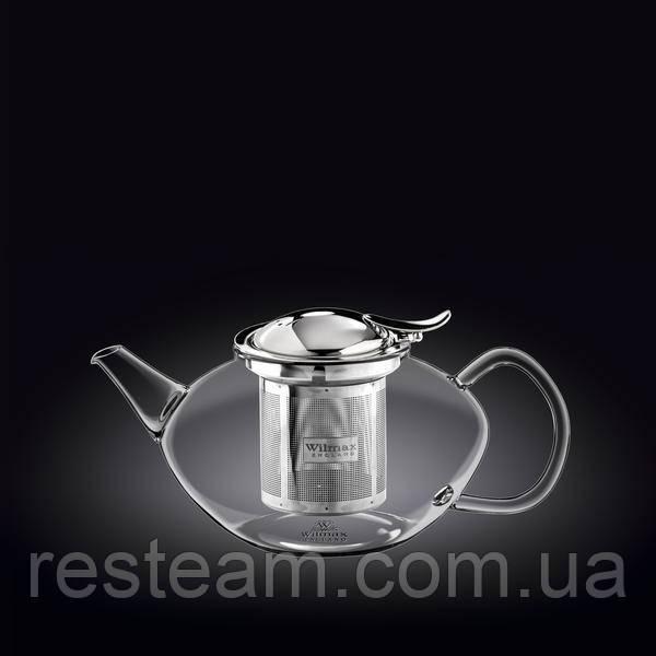 Чайник стекло метал. фильтр 650 мл Wilmax Thermo