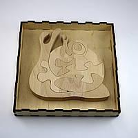 Развивающая деревянная игрушка Улитка пазл 9 элементов Артприз (ДИУ3), фото 1