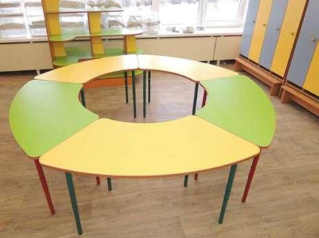 Комплект детских игровых столов Улыбка. W11