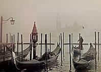 Картина Гандольеры в Венеции на натуральном холсте Артприз 20х30см (В3/2030/33), фото 1