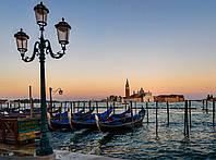 Картина Причал Венеция  на натуральном холсте Артприз 50х100см (В5/50100/36)