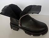 Ботинки женские зимние кожаные от производителя модель ДС743-2, фото 5