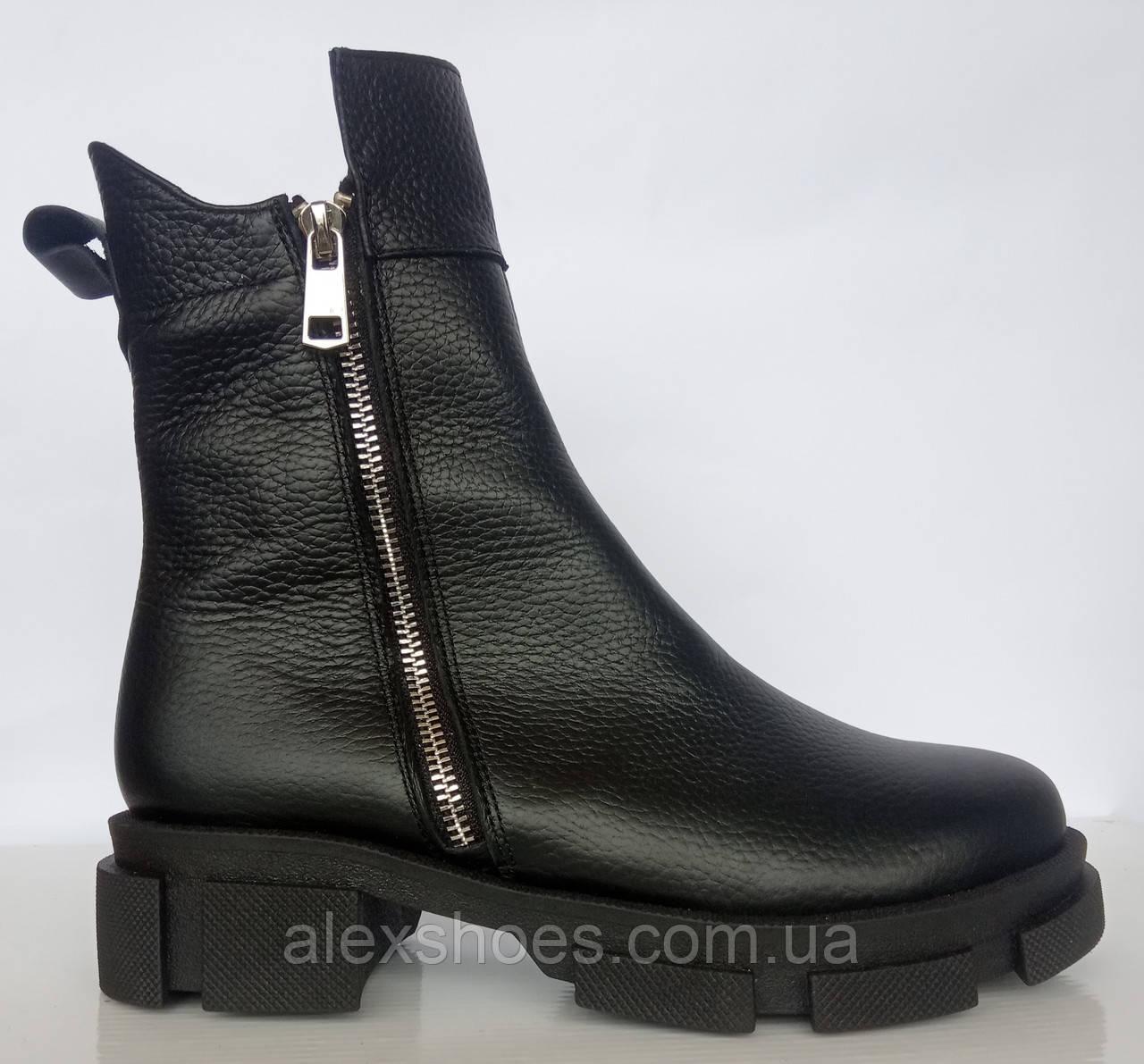 Ботинки женские зимние кожаные от производителя модель ДС743-2
