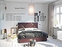 Ліжко Бейліс 160*190 (м'яке изголовие)