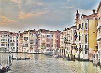 Картина Городской пейзаж Венеция на натуральном холсте Артприз 20х40см (В15/2040/46), фото 1