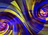 Картина Абстракция 9 на натуральном дереве Артприз 30х50см (КДА9/3050/110)