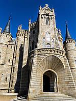 Картина Епископский дворец Асторга на натуральном дереве Артприз 40х60см (КДЗ6/4060/116), фото 1