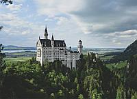 Картина Замок Нойшванштайн на натуральном дереве Артприз 20х30см (КДЗ8/2030/118), фото 1