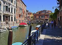 Картина Обычная Венеция на натуральном холсте Артприз 50х100см (В13/50100/44), фото 1