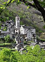 Картина Кариппо Швейцария на натуральном дереве Артприз 50х70см (КДЗ16/5070/125), фото 1