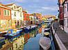 Картина Типичная Венеция  на натуральном холсте Артприз 30х60см (В4/3060/35)