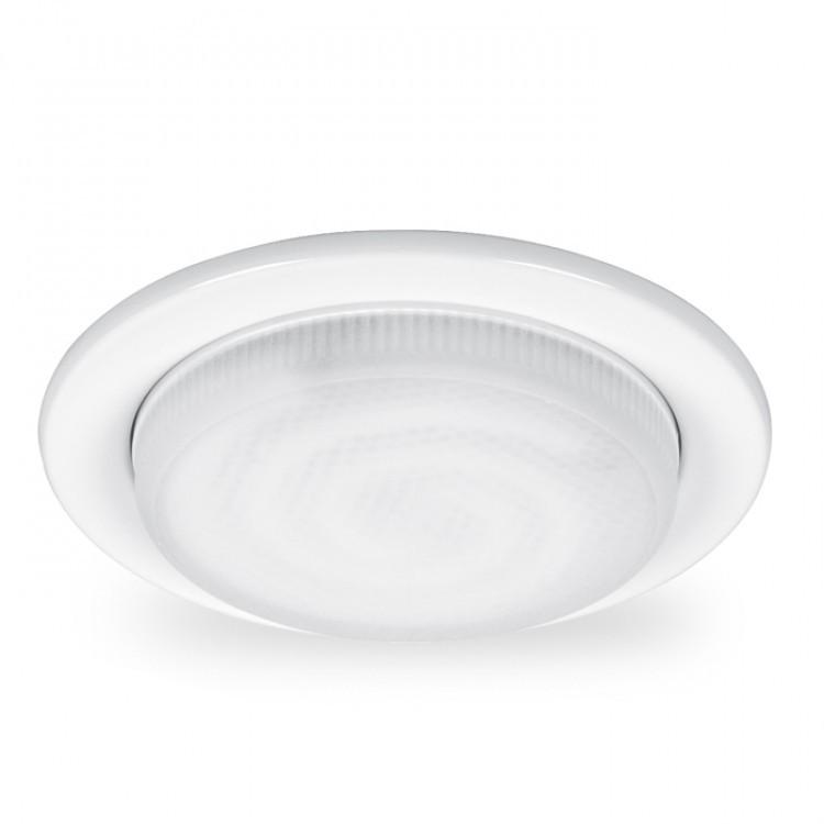 Встраиваемый светильник Feron белый под лампу GX53