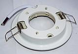 Встраиваемый светильник Feron белый под лампу GX53, фото 3
