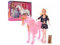 Лошадка на шарнирах c куклой 28925 Metr+