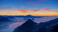 Картина Туман в горах на натуральном холсте Артприз 50х80см (ГР11/5080/62), фото 1
