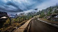 Картина Горная дорога на натуральном холсте Артприз 20х30см (ГР9/2030/60), фото 1