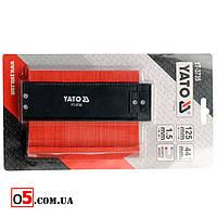 Измеритель контура YATO YT-3735 / Универсальный контурный шаблон 125мм