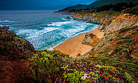 Картина Морской пейзаж на натуральном холсте Артприз 60х90см (ГР19/6090/72), фото 1