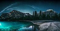 Картина Горы в звездах на натуральном холсте Артприз 50х90см (ГР21/5090/73)