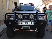 НАШИ РАБОТЫ: Переустановка биксеноновых линз в Mitsubishi Pajero