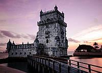 Картина Торре де Белен Португалия на натуральном холсте Артприз 70х100см (З13/70100/123), фото 1