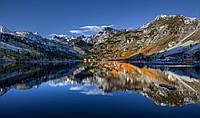 Картина Отражение гор на натуральном холсте Артприз 50х90см (ГР10/5090/61)