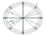 Комплект фланцев Fitstar для Тайфун и Тайфун-Дуо (B7980050), фото 2